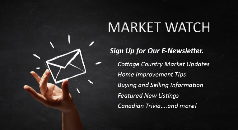 NEWSLETTER FOR ONTARIO COTTAGES FOR SALE